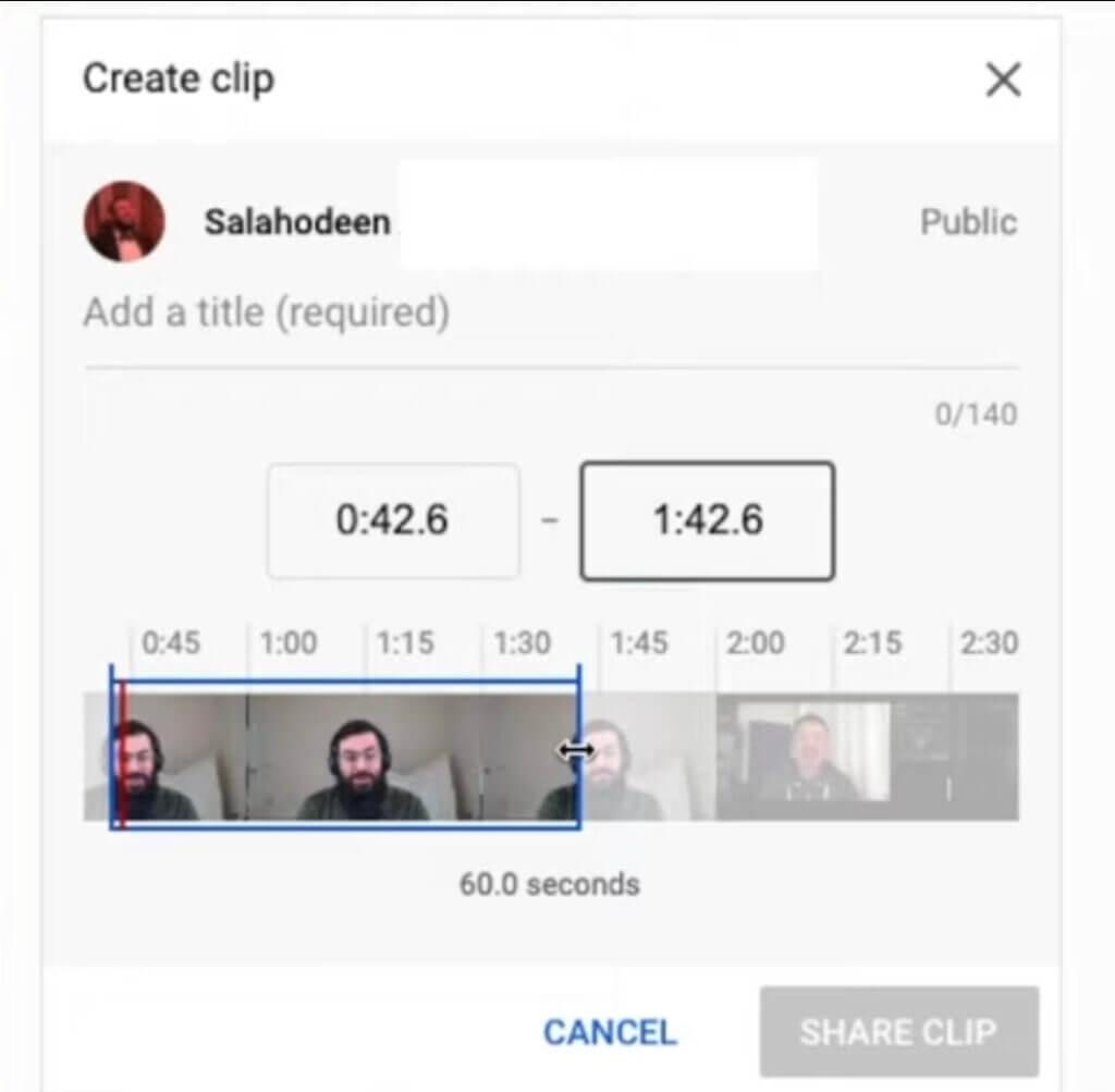 Как сделать клип на Ютубе