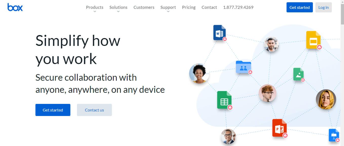 Box — американский сервис для хранения и расшаривания файлов