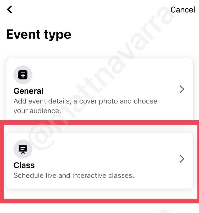 Как создать класс в Facebook