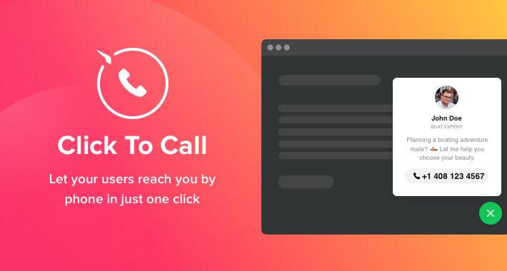 Плагин Click To Call — «кликните, чтобы позвонить»