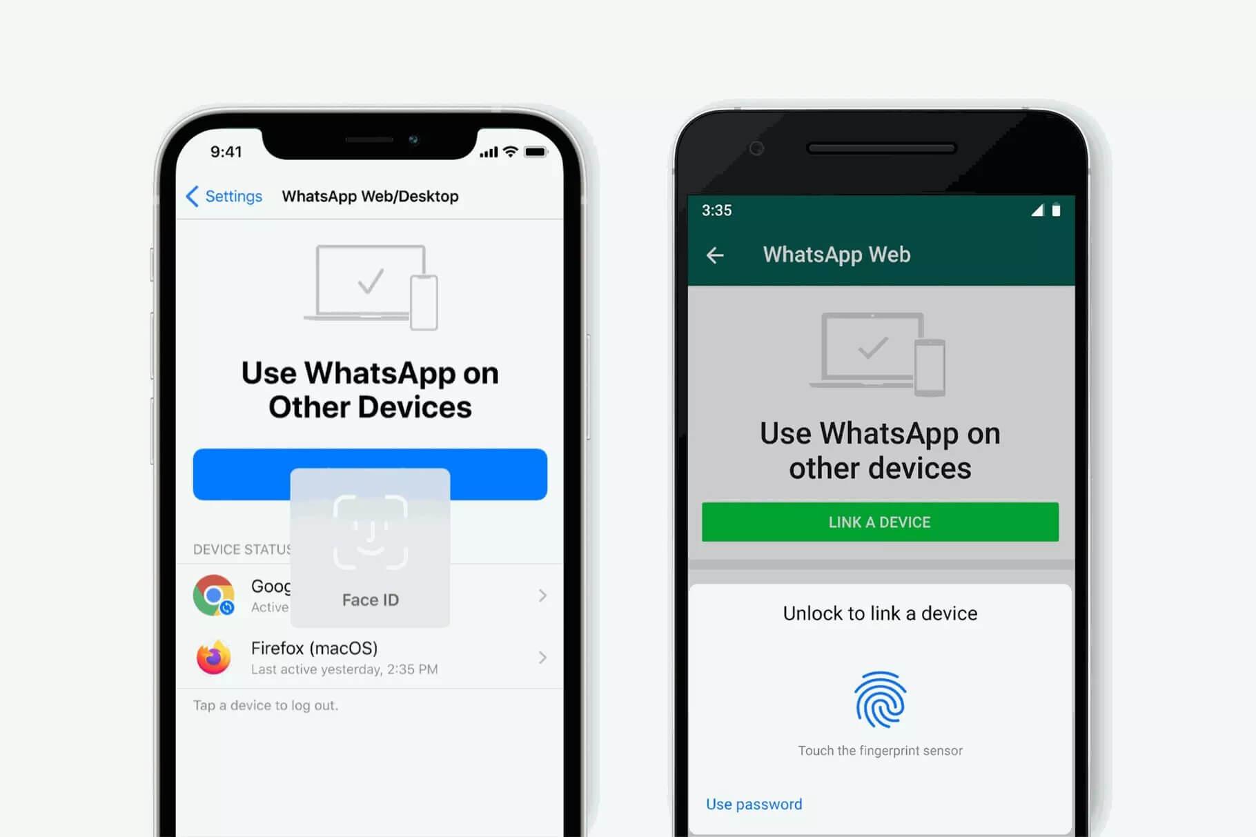 WhatsApp появится биометрическая аутентификация — через Touch или Face ID в Вотсап