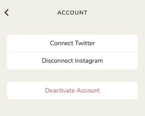 Как удалить аккаунт из Клабхаус