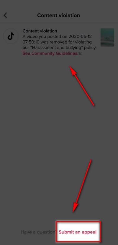 Как разблокировать видео в ТикТок