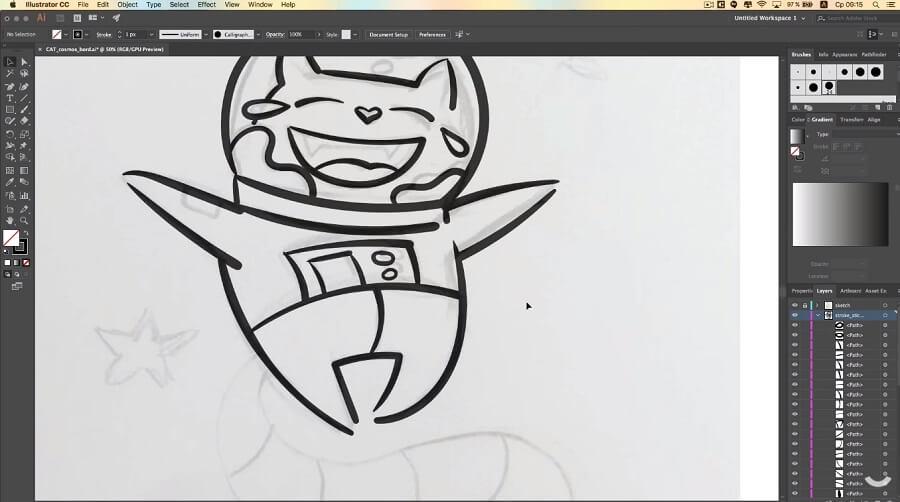 Как самому нарисовать стикер для Телеграм