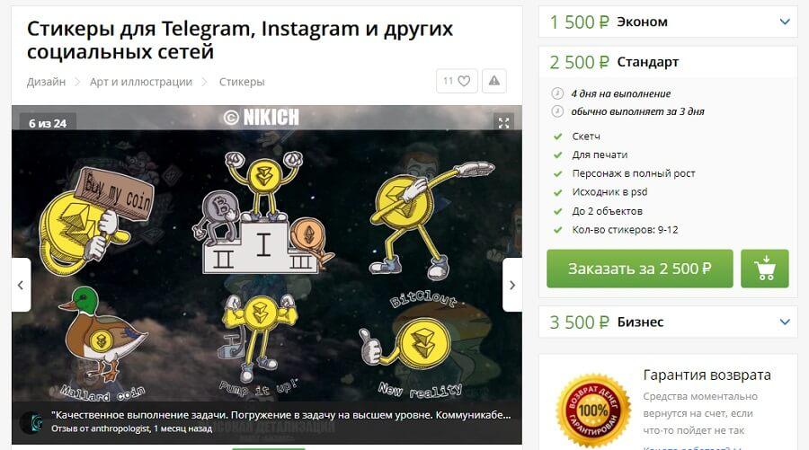 Как сделать стикеры для Telegram