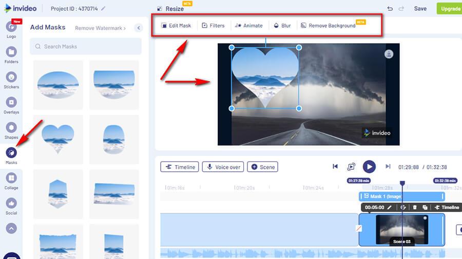 Онлайн эффекты для видео
