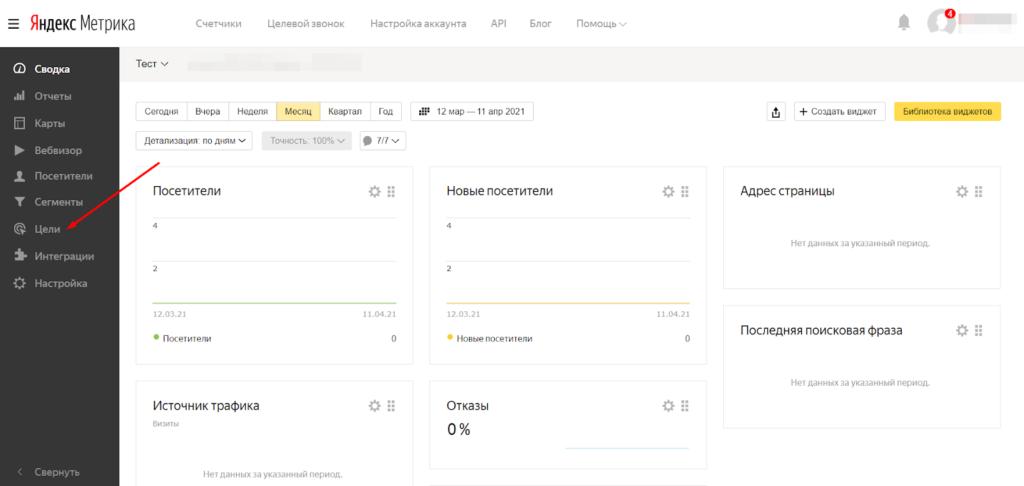 Цели Яндекс.Метрики на любые кликабельные элементы: почему они важны и как настроить