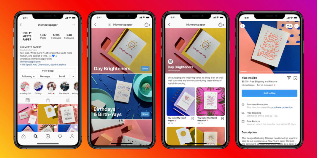 Instagram тестирует рекламу во вкладке «Магазин»