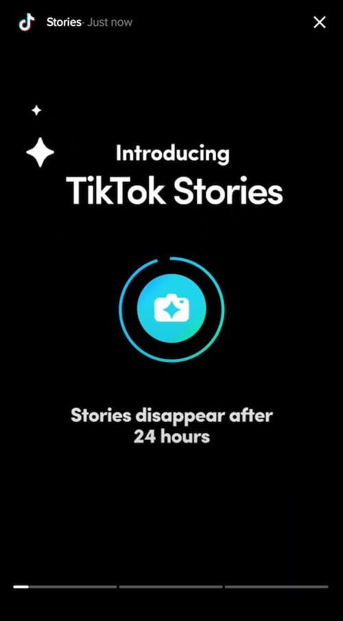 TikTok начинает тестировать Истории
